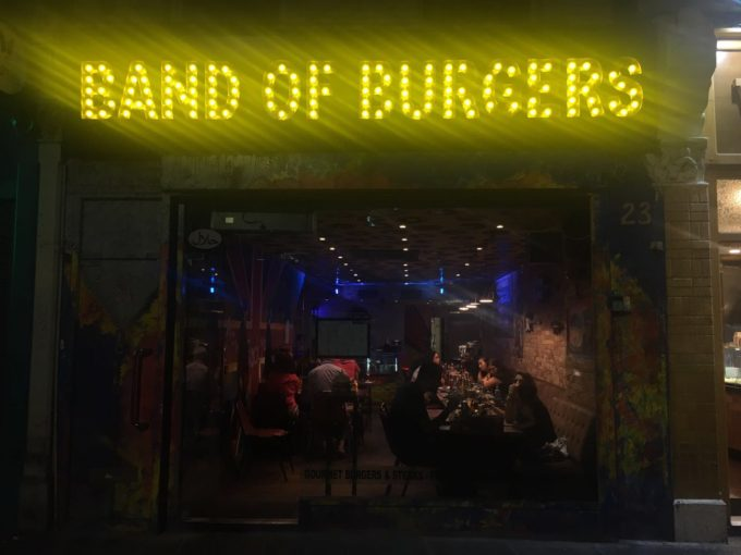 band of burgers exterior view