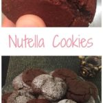 nutella cookies pin