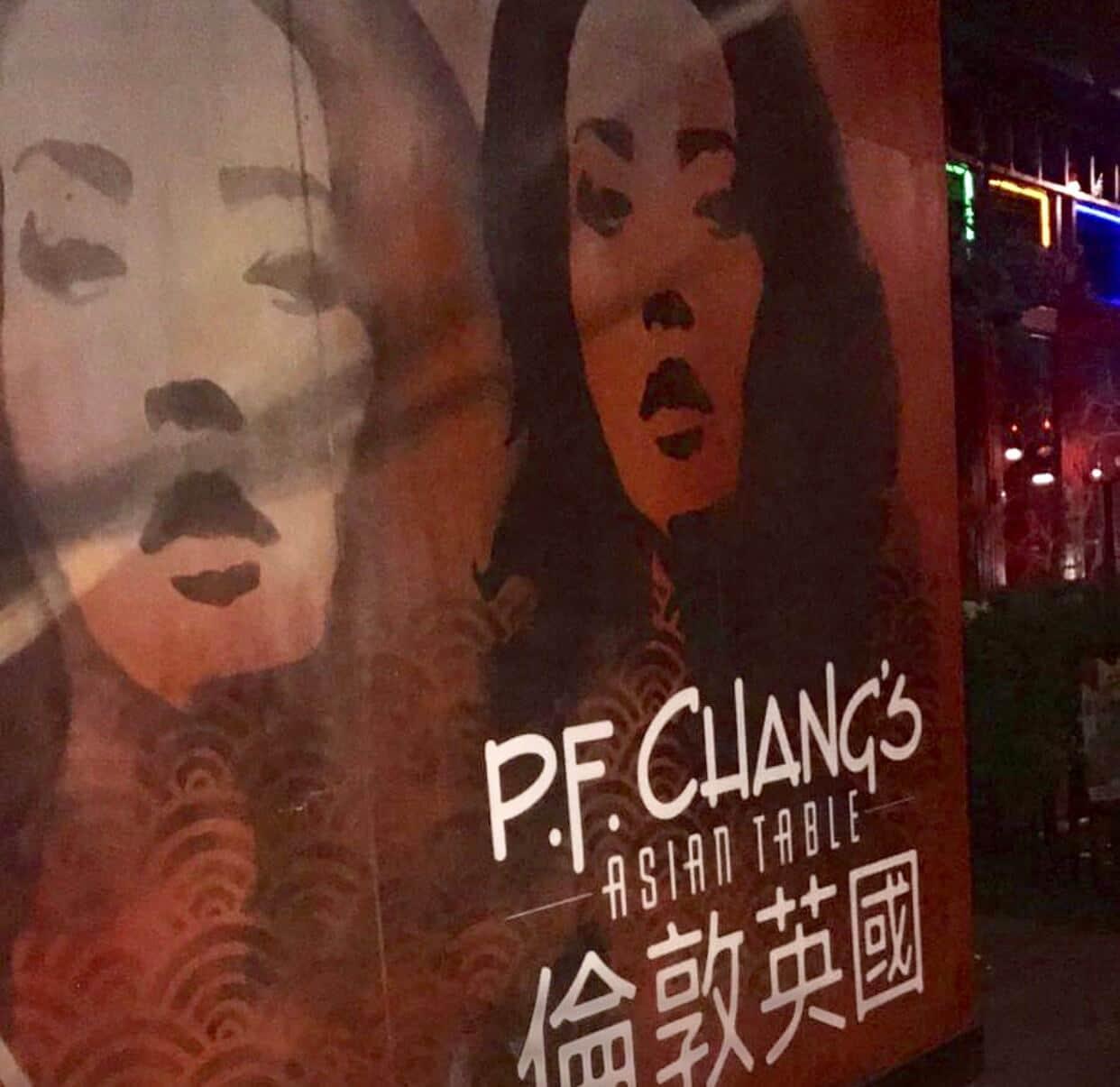 PF changs poster art