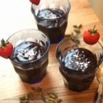 Chocolate and cardamom pudding