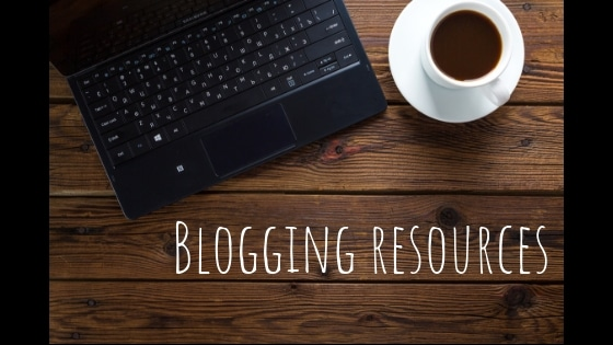 Blogging - Magazine cover