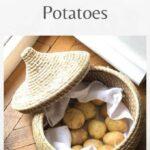 How to store potatoes pin