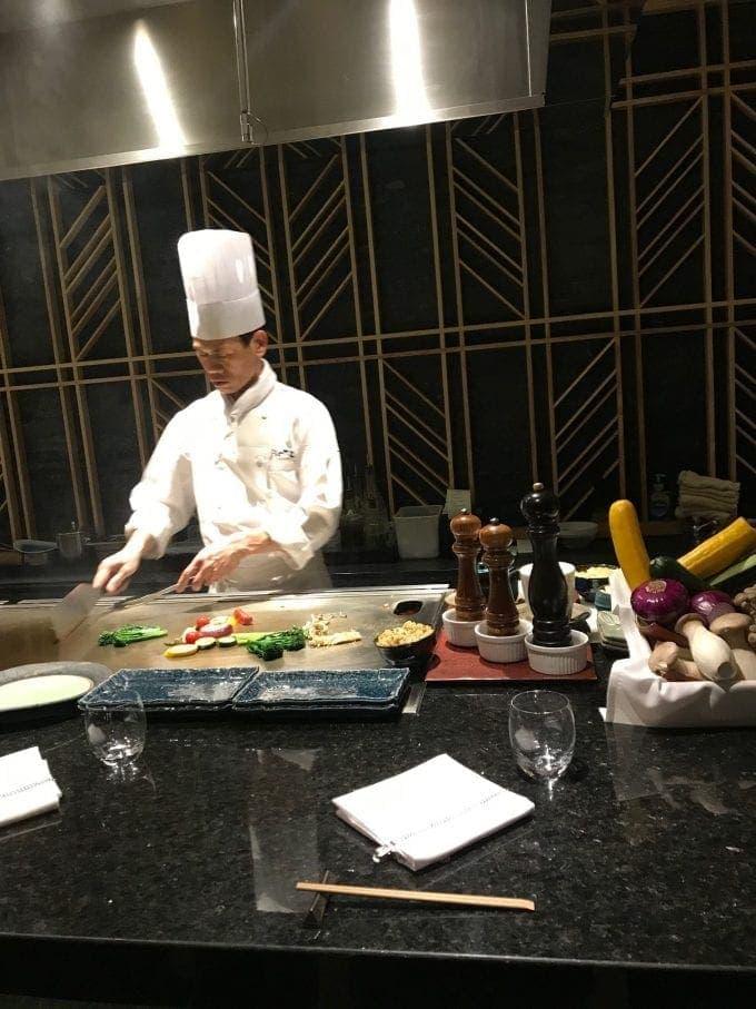 chef preparing dishes